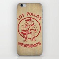 Los Pollos Hermanos vintage ( Breaking Bad ) iPhone & iPod Skin