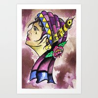Gypsy Princess  Art Print
