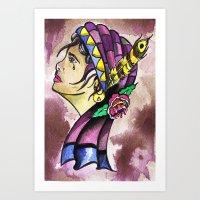 Gypsy Princess  Art Print