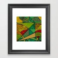 Tropical Farm Framed Art Print