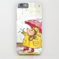 Rainy Day Hedgehog iPhone 6 Slim Case