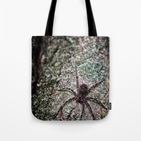 Creepy Spider Tote Bag