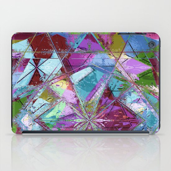 Abstract geometrics iPad Case