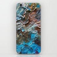 The Waterfall-Palette Mi… iPhone & iPod Skin