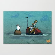 Use Verb on Noun #33: Curse of Monkey Island Canvas Print
