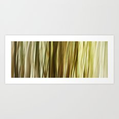 Lost in Grass Art Print