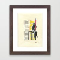 Fat Face Framed Art Print