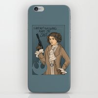 She's Young, Scrappy, and Hungry. iPhone & iPod Skin
