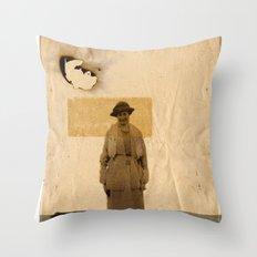 SAND// Throw Pillow