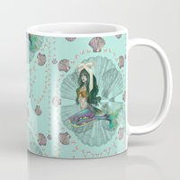 Mermaid Deco Mug