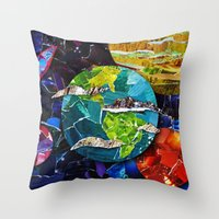 Gimme Some Space! Throw Pillow