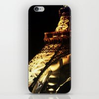 Paris Lights 2 iPhone & iPod Skin