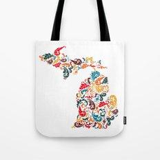 Michigan Colors Tote Bag