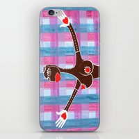 Open arms iPhone & iPod Skin