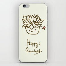 Happy Succulent iPhone & iPod Skin