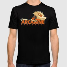 Athletics Wear Black SMALL Mens Fitted Tee
