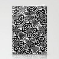 Metallic Mesh Pattern Stationery Cards