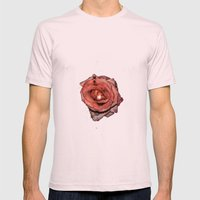 Dark Passion Mens Fitted Tee Light Pink SMALL