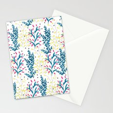 bright flowers. Illustration, pattern, flowers, floral, print,  Stationery Cards