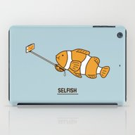 iPad Case featuring Selfish by Ilovedoodle