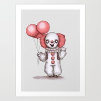 They All Float Down Here Art Print