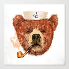 Mr.Bear Canvas Print