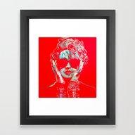 Seeking Susan Framed Art Print