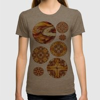 The Giver Womens Fitted Tee Tri-Coffee SMALL