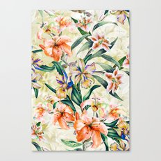 RPE Seamless Floral III Canvas Print