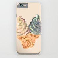 iPhone & iPod Case featuring Treat Yo' Self by Suburban Bird Designs