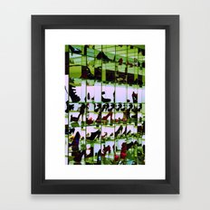 Simply Shoes Framed Art Print