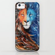Fire And Ice Lion iPhone 5c Slim Case