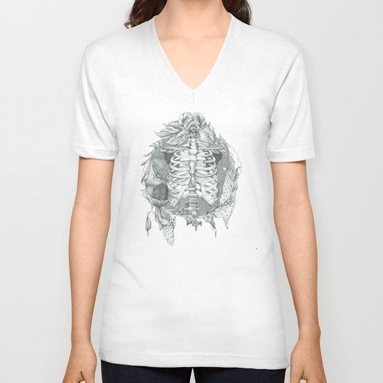 B L O S S O M V-neck T-shirt