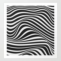 wave Art Prints featuring Wave by Tracie Andrews