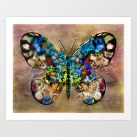 Butterflied Art Print