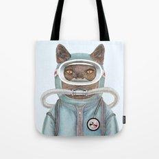 Scuba Cat Tote Bag
