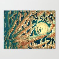 The Journey Below Canvas Print