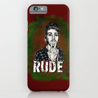 iPhone & iPod Case featuring Rude by sEndro