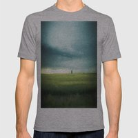 Alberta Prairies Mens Fitted Tee Athletic Grey SMALL