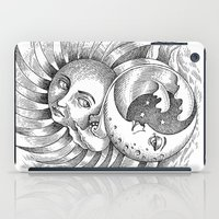 Moon and Sun iPad Case