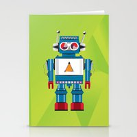 Robot SteveO Stationery Cards