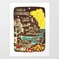 Porís De Candelaria #on… Art Print