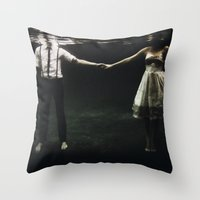 abyss of the disheartened : IX Throw Pillow