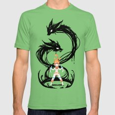 Fox Summoner Mens Fitted Tee Grass SMALL