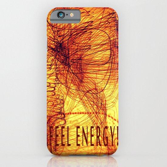 feel energy! iPhone & iPod Case