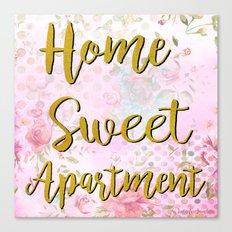 Home Sweet Apartment Canvas Print