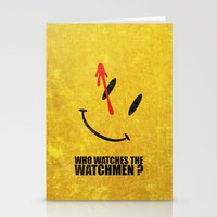 The Watchmen (Super Mini… Stationery Cards