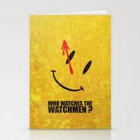 The Watchmen (Super Minimalist series) Stationery Cards