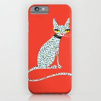 iPhone & iPod Case featuring Wild House Cat by a. peterson