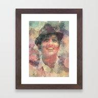 Dean Martin Framed Art Print